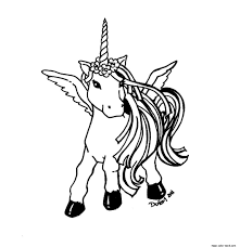 unicorn free coloring pages printable