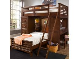 Chelsea Square Youth Twin Loft Bed Unit with Built-In Desk and Chest by Liberty Furniture at Royal Furniture