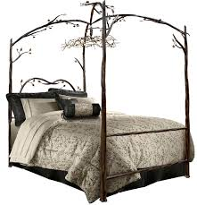 Stone County Ironworks Enchanted Queen Canopy Bed & Reviews