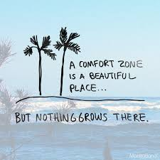 A Comfort Zone Is A Beautiful Place Quote Author Best Of A COMFORT ZONE IS A BEAUTIFUL PLACE BUT NOTHING GROWS THERE