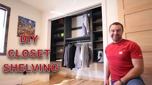 Building closet shelves Floating Shelves Simple Closet Shelves You Can Build In Weekend To Get Organized Modular Shelves Love Renovations Simple Closet Shelves You Can Build In Weekend To Get Organized