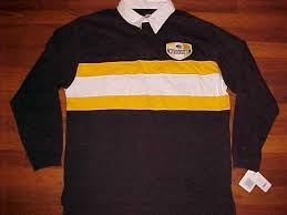 details about pro player ncaa sec missouri tigers football black yellow rugby shirt l new