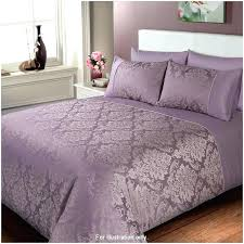 purple duvet sets jacquard damask double set cover