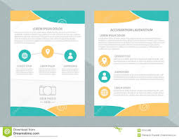 vector flyer template design front page and back page vector flyer template design front page and back page business brochure or cover royalty
