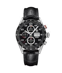 tag heuer carrera calibre 16 day date automatic chronograph 43 mm tag heuer carrera calibre 16 day date automatic chronograph 100 m 43 mm cv2a1r