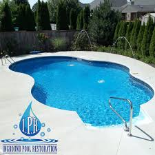 Innovative Inground Pool Pictures Restoration Swimming Hot Tub