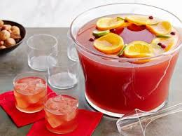 In contrast to hot punch this drink should be served refrigerated so it  will help you to quench your thirst during a hot Christmas party!
