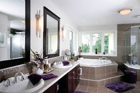 chic and spa style bathroom makeover