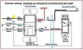 motion sensor light switch wiring diagram Wiring Diagram For Motion Sensor Light replacing 3way switch with motion sensor doityourself com wiring diagram for motion sensor flood lights