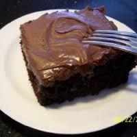Homemade Chocolate Cake With Homemade Chocolate Frosting Recipe