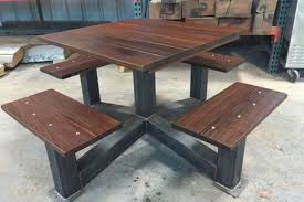 industrial style outdoor furniture. Outdoor Modern Industrial Style Picnic Table The Inside Designs 3 Furniture I
