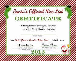 printable christmas gift certificate template gift certificate templates printable nice list printable christmas gift certificate template dimension n tk