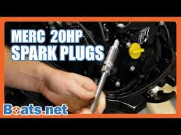 Mercury Outboard Spark Plug Replacement 20hp 4 Stroke Spark Plug Change