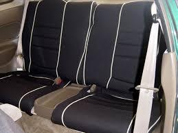 acura integra full piping seat covers rear seats