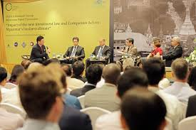 panel discussion impact of the new investment law and companies act on myanmar s business