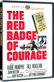 the red badge of courage by john huston audie murphy bill  the red badge of courage