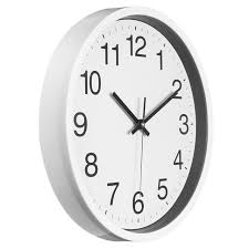 charminer 12 inch silent sweep non ticking wall clock black white in plans 8