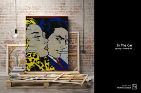 this makes it similar to lichtenstein s more famous painting drowning girl which also draws inspiration from woman s romance comics and is a near exact