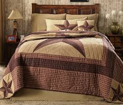 landon cal king quilt country lone star western rustic red cabin california