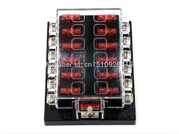 aliexpress com buy 12 way blade fuse box bus bar kit car boat aliexpress com buy 12 way blade fuse box bus bar kit car boat marine fusebox holder 12v 24v volt from reliable boat cleats suppliers on cc mr