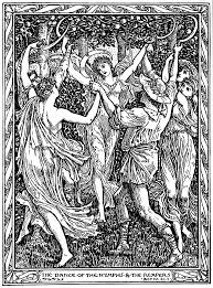 Walter Cranes Illustration To William Shakespeares The Tempest