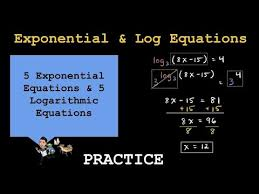 pre calculus exponential and