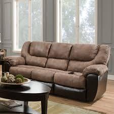 simmons double motion bandera mocha sofa