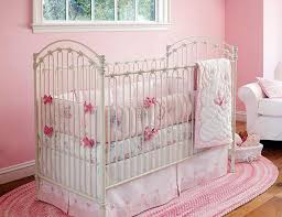 fancy baby girl crib bedding pink and grey in stylish home interior design g06b with baby