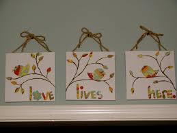 simple canvas painting ideas lovely bright hope diy love lives here canvas