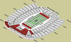 Doak Campbell Stadium Seating Chart Seat Numbers Doak Campbell Seating Chart Rows Doak Campbell Stadium