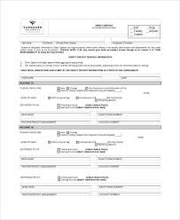 Direct Debit Form Bank Deposit form Template Fresh Paychex Direct Deposit form Dp0002 ...
