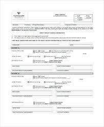 Direct Debit Form Bank Deposit form Template Fresh Paychex Direct Deposit form Dp0002 ...