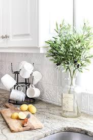 Diy Pressed Tin Kitchen Backsplash ...