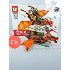 Lego Ninjago Lắp Ráp Robot Rồng Có Cánh LY-68030A ( 296 Mảnh )
