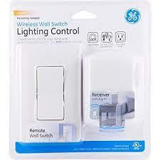 ge wireless remote wall switch light