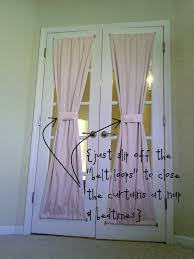 Magnetic Curtains For Doors Stunning Decorating French Doors Contemporary Design And