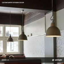 lighting design ideas massive graphite and aluminum large industrial pendant lighting huge present day business