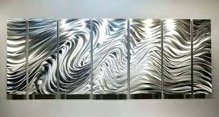 silver wall sculpture hypnotic sands brilliant modern metal art wall sculptures metal outdoor wall hangings metal australia