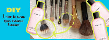 clean makeup brushes how to tutorial elegance and beauty reviews easy diy
