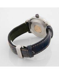 paul smith navy cambridge watch in blue for men lyst paul smith men s blue navy cambridge watch