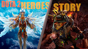 dota 2 heroes story and relations lore youtube
