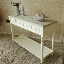 cream console table. Country Ash Range By Melody Maison £170. Would Have Wicker Storage Baskets On The · BasketsDrawer TableCream DrawersCream Console Cream Table R