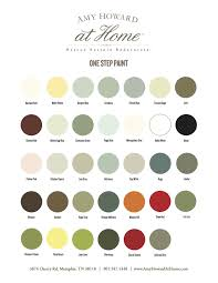 Amy Howard One Step Paint Swatches In 2019 Amy Howard