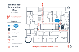 evacuation diagram