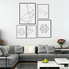 installation examples black white living room set white black contours