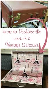 How to Line a Suitcase