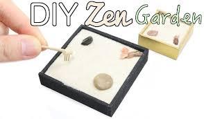 13 attractive diy mini zen gardens for