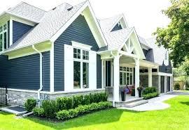 Home Exterior Paint Design Best Red Exterior Paint Blue House White Trim What Color Door Schemes For
