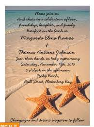 Beach Invitation Starfish Beach Wedding Invitation Or Announcement Buy Butterfly Wedding Invitation Cards Wedding Invitations Made In China Wedding Invitations Made