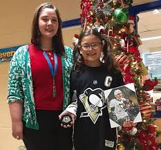 Penguins choose Union girl's design for holiday card   News ...